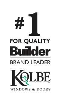Builder brand leader award Kolbe